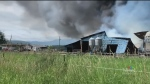 3 island fire departments battle massive barn fire
