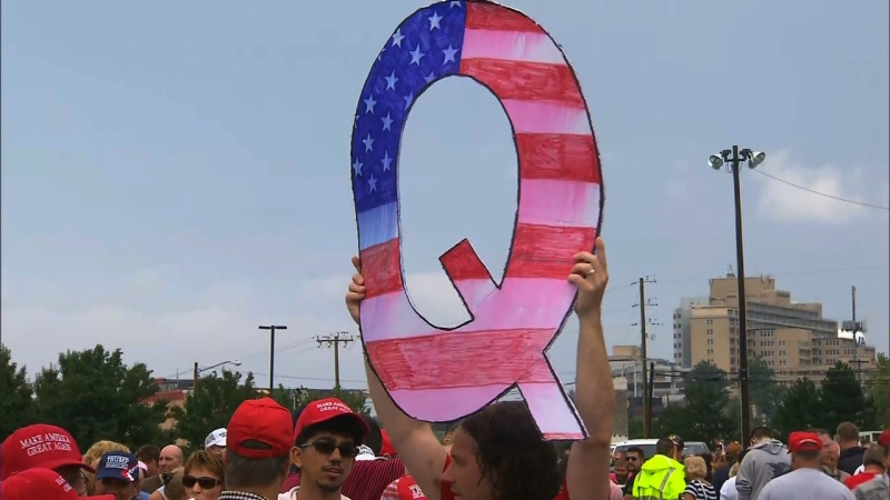 "Since its origin three years ago, QAnon has festered in the darker corners of the internet. Now the group's followers, who call themselves ""believers,"" have found a niche on social media and within the Republican Party. (CNN)"