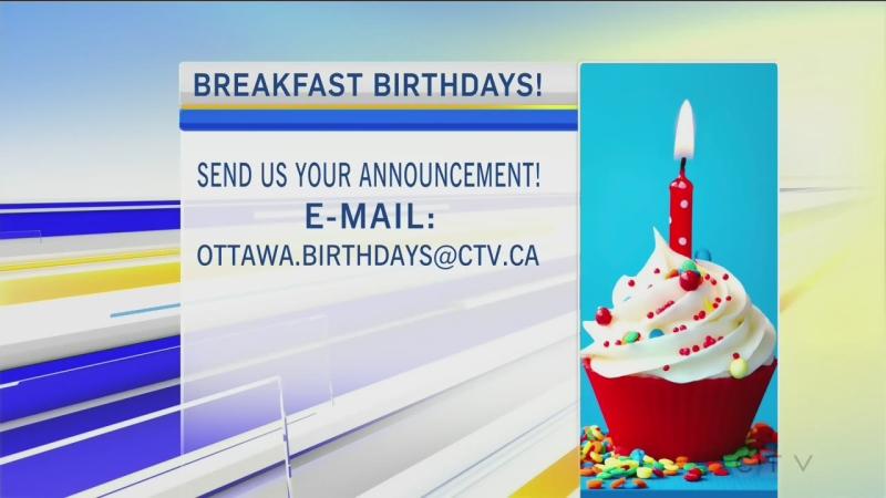 CTV Morning Live Birthdays July 03