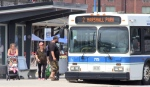 Following a similar move in Toronto, North Bay Transit is considering requiring masks for riders starting in September. (Eric Taschner/CTV News)
