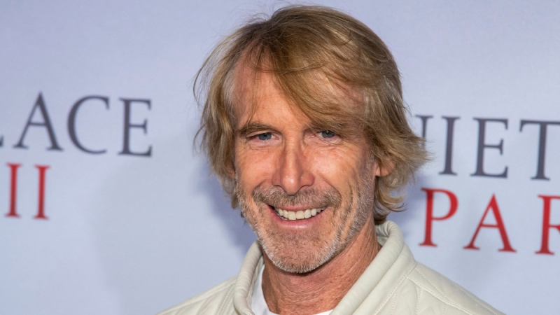Michael Bay in New York, on March 8, 2020. (Charles Sykes / Invision / AP)