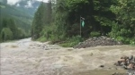 Hwy. 1 has been reopened near Revelstoke after the roadway was shut down due to flooding but motorists should expect delays.