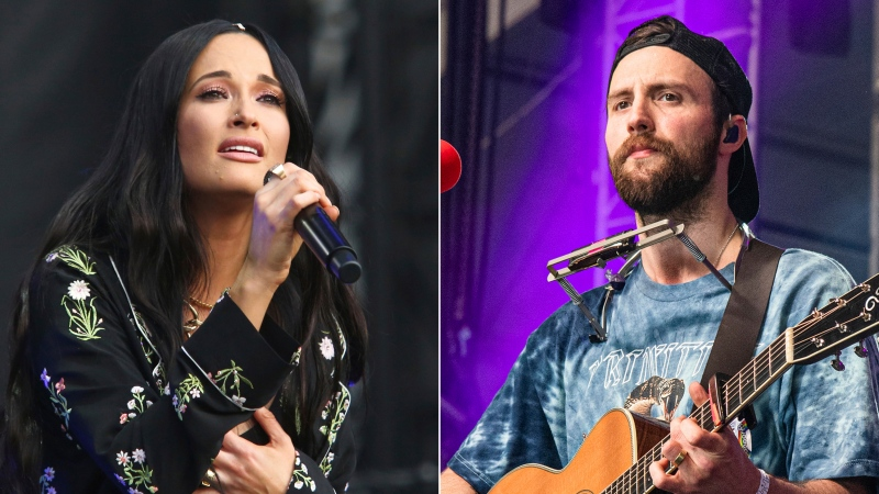 Kacey Musgraves performs during the first weekend of the Austin City Limits Music Festival in Zilker Park on Oct. 6, 2019, in Austin, Texas, left, and Ruston Kelly performs at the Bonnaroo Music and Arts Festival on June 15, 2019, in Manchester, Tenn. (Photo by Amy Harris/Invision/AP)