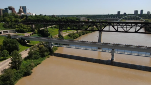 Alberta Environment and Parks said the North Saskatchewan River had risen between one and 1.5 metres, and could rise by that much again before July 4, 2020.