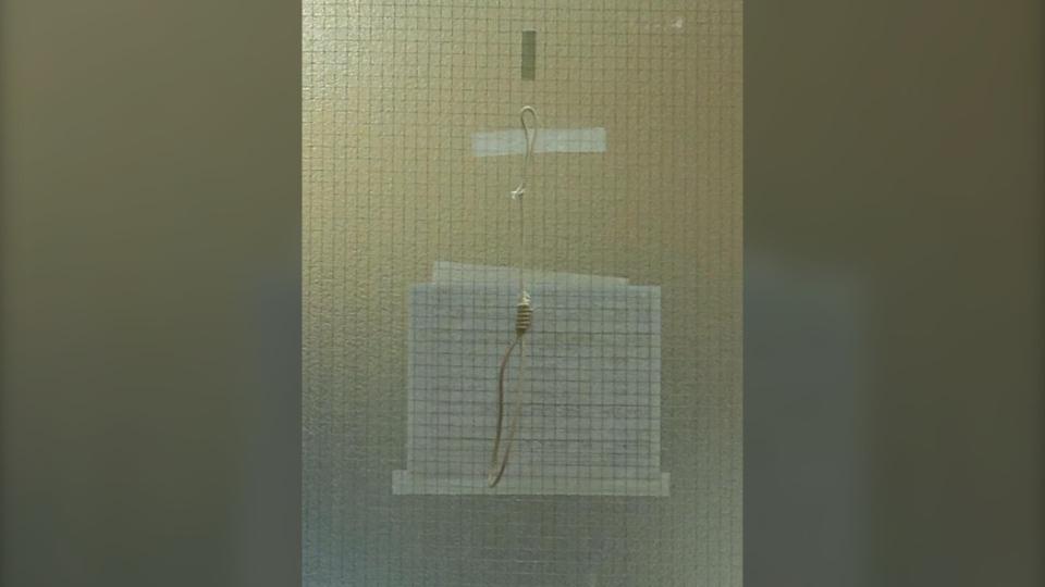 Grande Prairie hospital noose