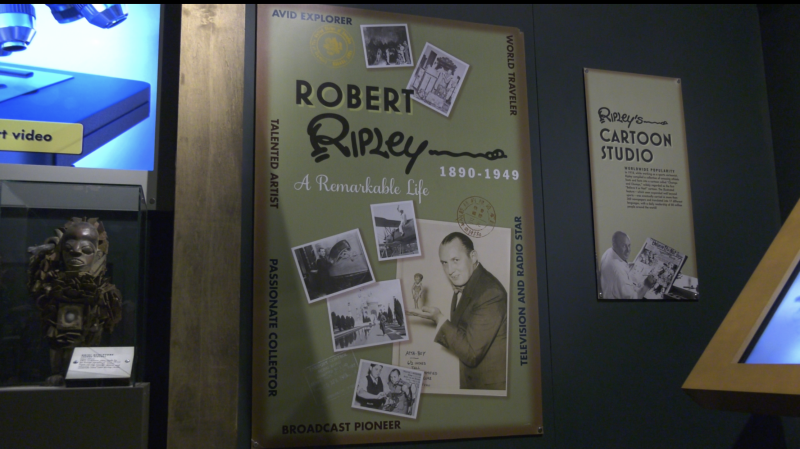 New exhibit at TWOSE:  Ripley's Believe It Or Not! (Darcy Seaton/CTV News Edmonton)