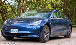 Daniel Barozzini's Tesla 3, which he has named Artemis, is listed on the peer-to-peer car-sharing site Turo.