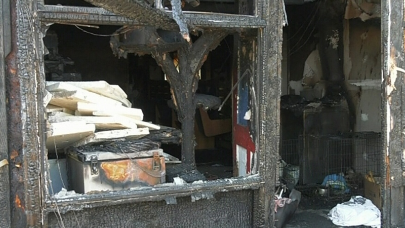 Animal rescue owners upset after fire