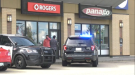 Armed, masked robbers hit the Rogers store on 91 Street on July 3, 2020.