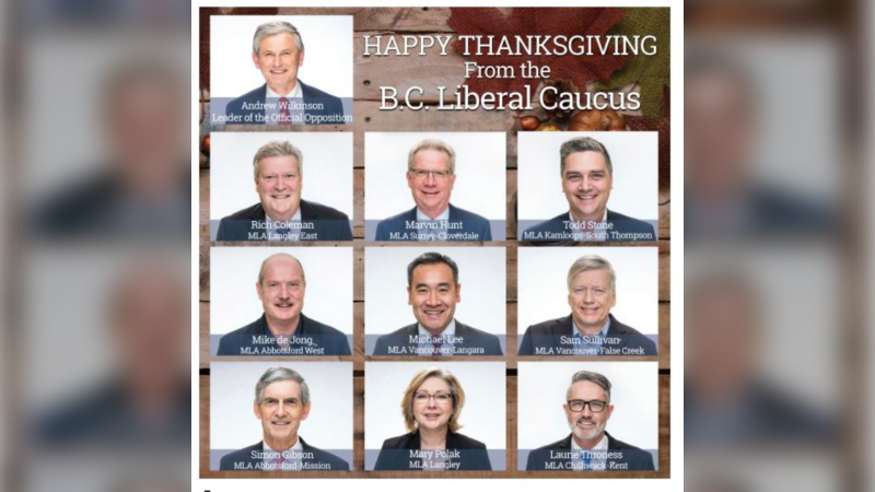 The BC Liberals have been called out for frequently advertising in the Light Magazine, which publishes articles expressing alarm that conversion therapy could be banned. This ad appeared in the 2019 issue of the magazine.