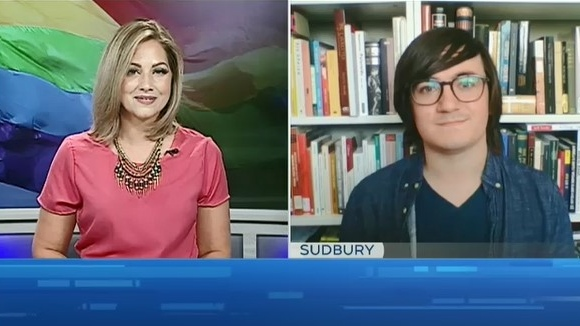 CTV's Jessica Gosselin interviews Alex Tetreault about how Sudbury Pride plans to celebrate 23 years with online events.