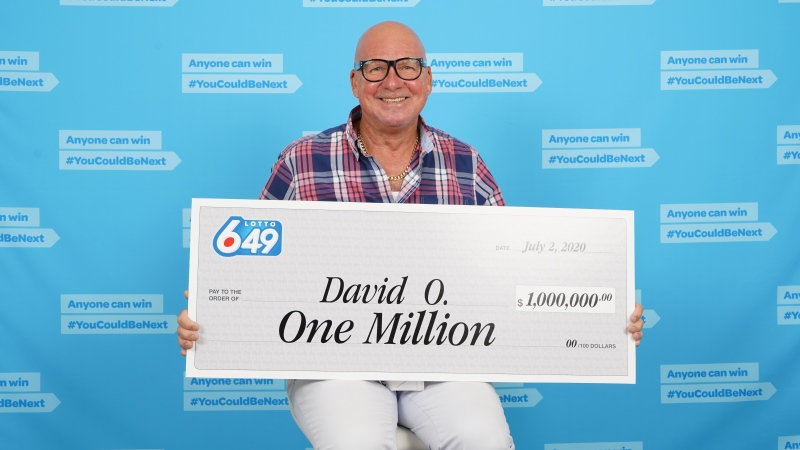"Back in 2016, David O'Brien won a $5 million Lotto 6/49 jackpot. He said winning a second large prize just a few years later feels ""mind-boggling."""