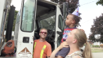 A Kitchener boy got a special surprise for his second birthday