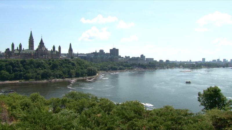 Ottawa hot sunny summer weather