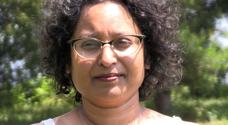 Vijanti Ramlogan is a member of a group lobbying city council in North Bay to create a racial equity committee and stand up against racism in the area. (Eric Taschner/CTV News)