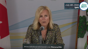 P.E.I.'s Chief Public Health Officer, Dr. Heather Morrison said in a news conference on Saturday that none of the three new cases are related to seasonal travel or the Atlantic Bubble.