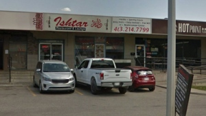 The Ishtar Restaurant, on Macleod Trail, was ordered to stop serving shisha to customers by Alberta Health Services. (File/Google Maps)