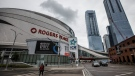 Home of the Edmonton Oilers, Rogers Place arena in Edmonton, Alta., on Thursday July 2, 2020. Edmonton could be one of the hubs for the return of the NHL during the COVID 19 pandemic. THE CANADIAN PRESS/Jason Franson​