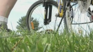 Man cycling across north to help kids with cancer