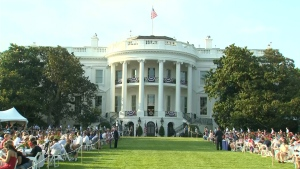 White House - fourth of july