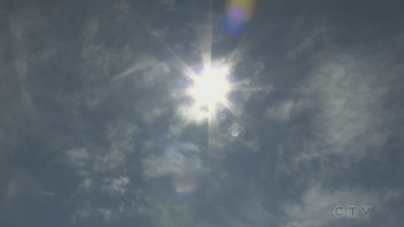 Environment Canada doesn't expect relief from the heat or dry conditions anytime soon.
