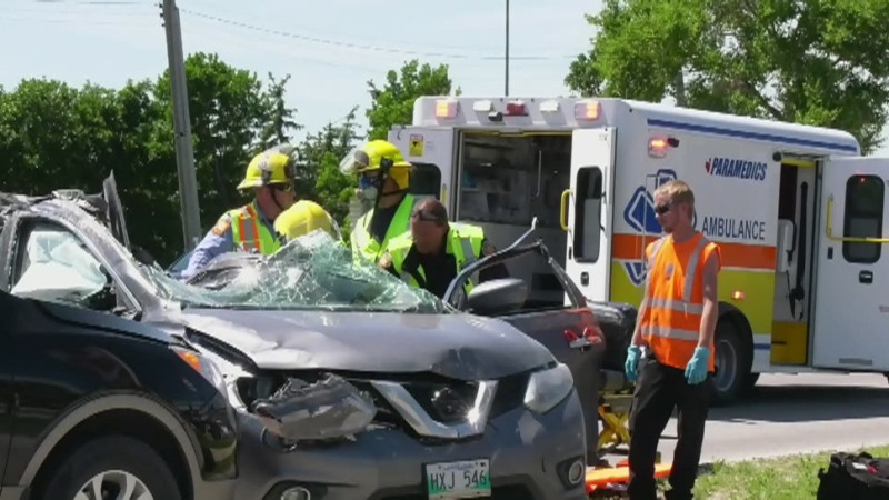 Charges laid in Portage Ave crash that injured 7