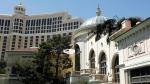 FILE - This April 14, 2017 file photo shows the Bellagio casino and resort in Las Vegas. (AP Photo/John Locher, File)