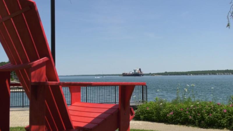 A sunny Saturday in Brockville. (Nate Vandermeer / CTV News Ottawa)