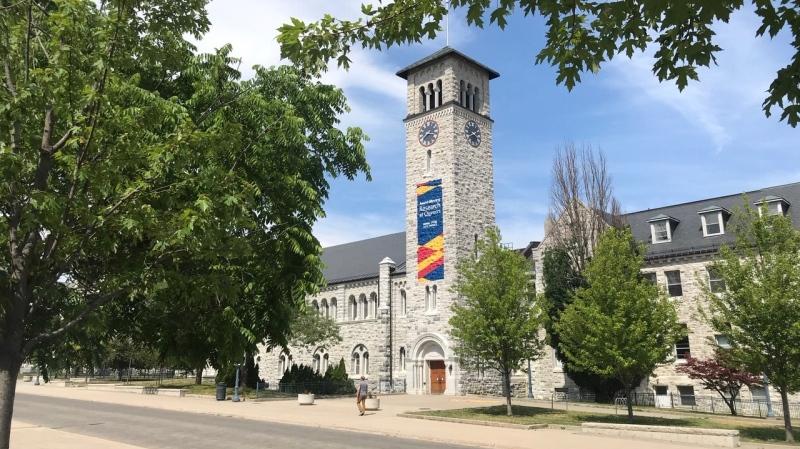 File photo of Queen's University in Kingston, Ont. (Kimberley Johnson / CTV News Ottawa)