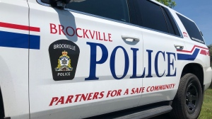 File photo of a Brockville police cruiser. (Nate Vandermeer / CTV News Ottawa)