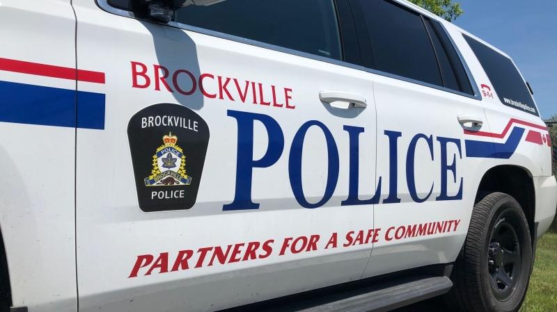File photo of a Brockville police cruiser. (Nate Vandermeer / CTV News Ottawa)
