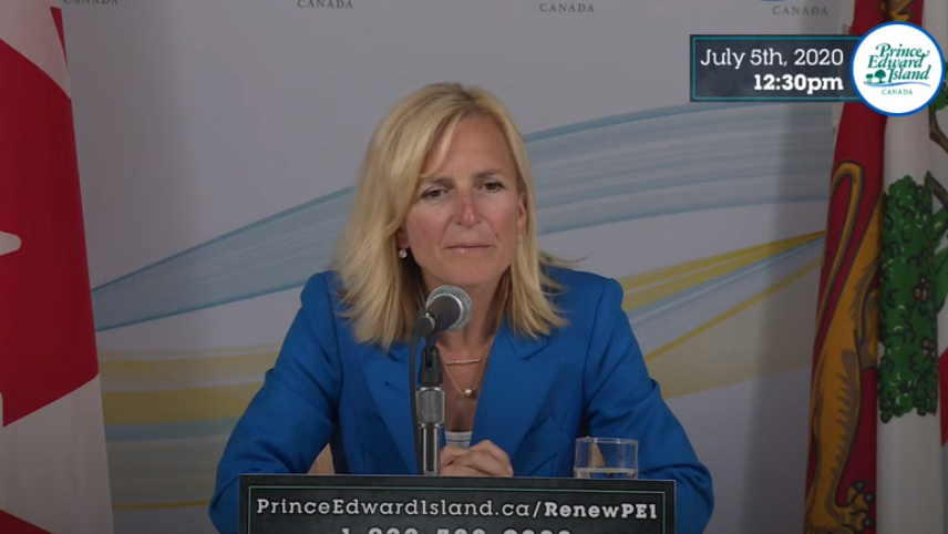 P.E.I.'s chief public health officer, Dr. Heather Morrison said the two new cases involve two men in their 20s who are both residents of Prince Edward Island.