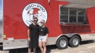 Nicholas Langlois and Morgan Belecque held a soft opening this weekend of their new food truck 'Miso & Shiso' off of Gormanville Rd. opening alongside Gateway City Brewery.July 5/2020 (Eric Taschner/CTV News Northern Ontario)