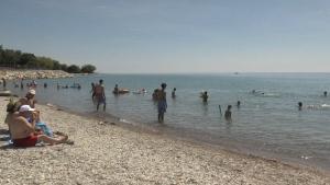 Goderich Main Beach on July 5, 2020. (Jordyn Read/CTV London)