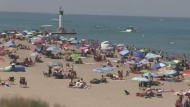 Another busy and trying day at Grand Bend