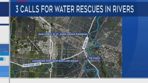 WFPS called to four simultaneous water rescues