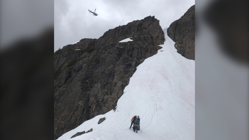 Search and rescue crews on Vancouver Island are scouring the backcountry in Strathcona Park for an experienced solo hiker who was last heard from nearly a week ago.