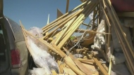Tornado damages Sask. Property