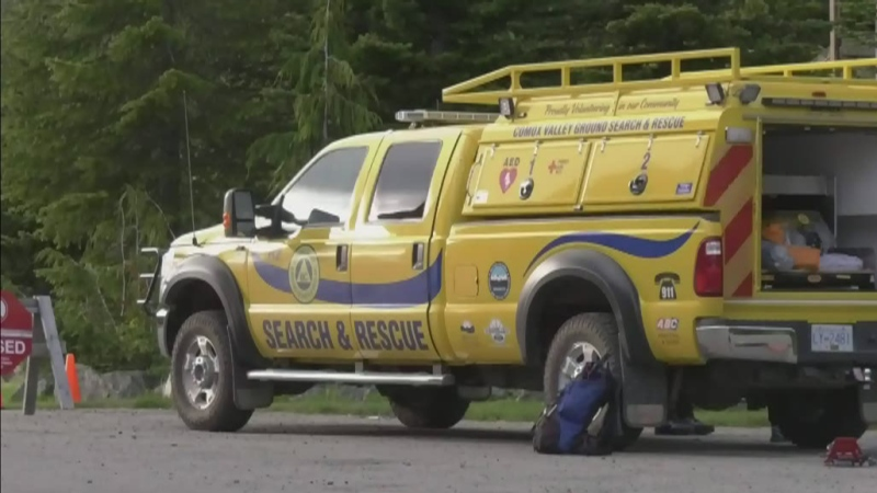 Missing hiker sought on Vancouver Island