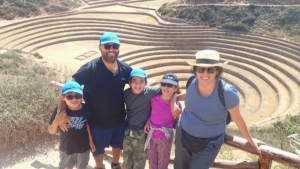 The Cini family returned to Canada on July 4 and are in mandatory quarantine after spending a year travelling abroad.