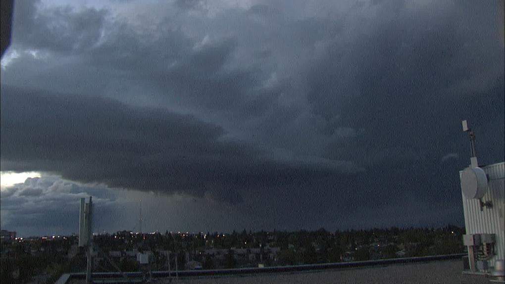 Calgary storm