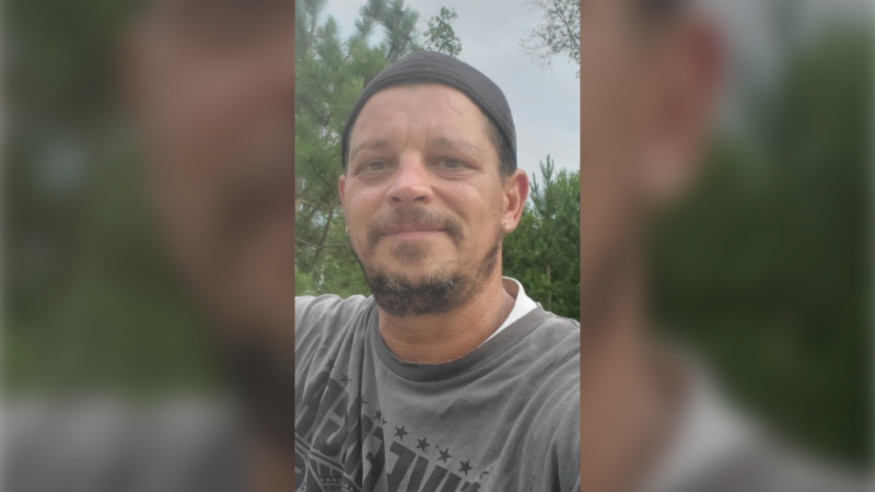 Sudbury police are looking for Garry Poulin, 48, who was last seen on Saturday. (Greater Sudbury Police Service)