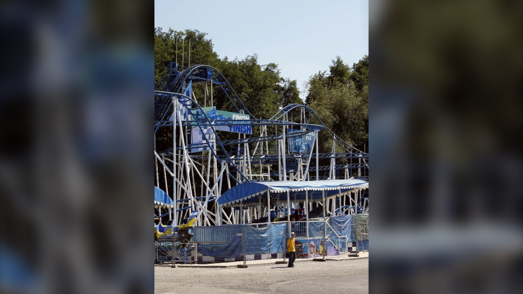 Roller coaster death