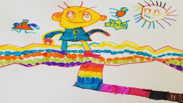 Arthur, 5 years old, Kindergarten, École élémentaire catholique de la Découverte