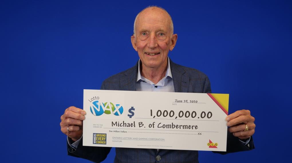 Lottery winner Michael Butt