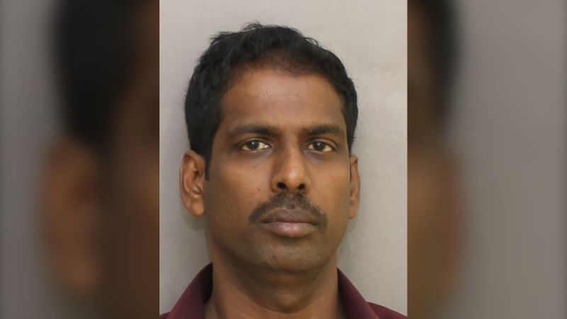 Police have charged 48-year-old Patgunalingam Rasalingam with three counts of sexual assault, three counts of sexual interference and three counts of invitation to sexual touching. (Toronto Police Service)