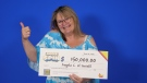 Angela Cantwell of Innisfil claims $150,000 jackpot from lottery prize centre in Toronto (OLG)