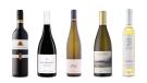 Collegium Wirtemberg Lemberger Trocken 2016, Whitehaven Pinot Noir 2016, Nigl Gartling Gruner Veltliner 2018, Columbia Winery Chardonnay 2017, Lakeview Wine Co. Vidal Icewine