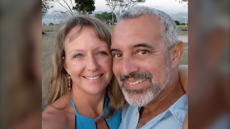 Carly Fleet of Grand Manan, N.B. is flying to Serbia to reunite with her partner, who is in Grenada. She says the Canadian government should do more to bring separated families back together. (Carly Fleet)