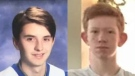Police are searching for missing teens Dylan Deroy, 18, (left) and Jordan Phillion, 15 (right): (West Shore RCMP)